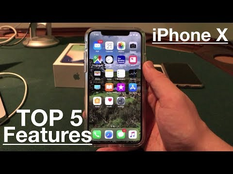 Top 5 iPhone X Features!