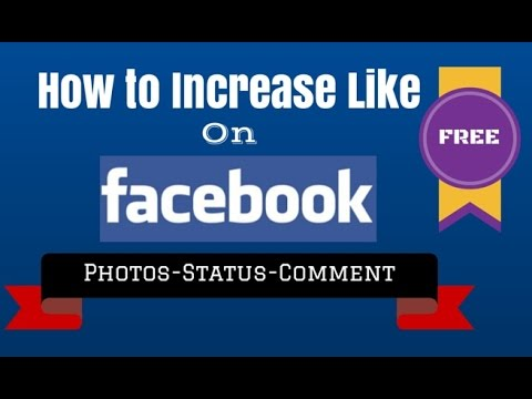 How to Increase likes on Facebook Photo or Status and Fan page New Version 2015