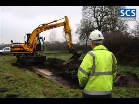 360 Excavator above 10 tonnes - CPCS Theory Test Questions and Practical Specifications