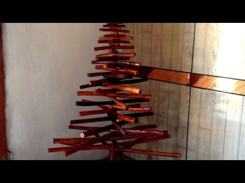 How To Make Your Own Driftwood Christmas Tree - DIY Home Tutorial - Guidecentral