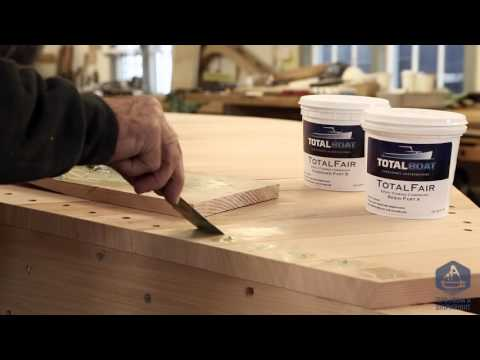 Building the TotalBoat Work Skiff - Filling over the screw holes (Episode 19)