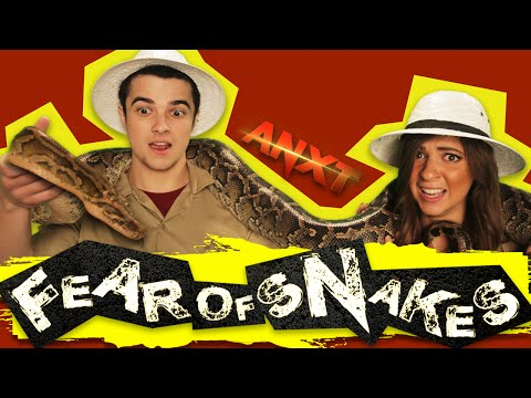 Fear of Snakes | Mikey Bolts & Gabbie Hanna | Ep 3 | ANXT