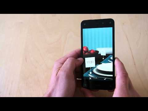 How to change Amazon Fire Phone lock screen wallpaper