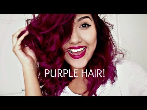 Red Plum Hair | How I did it.