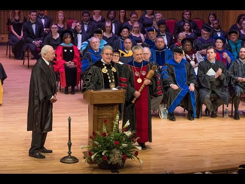 The Inauguration of Frostburg State University's 15th President: Dr. Ronald H. Nowaczyk