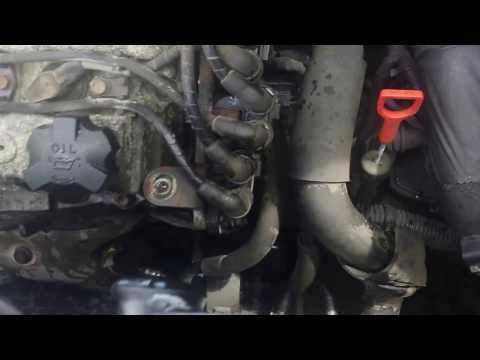 How to replace crank shaft sensor for santa fe 2.7