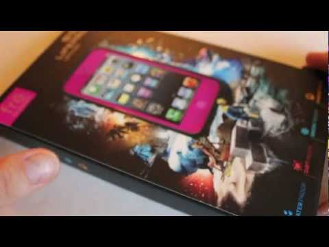 Magenta LIFEPROOF Fre Case For the iPhone 5 Unboxing