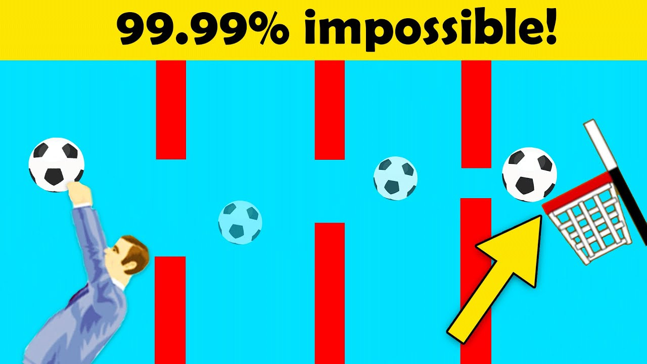 Can I Make The IMPOSSIBLE BALL THROW In Happy Wheels?!
