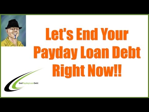 I Can't Pay Back My Payday Loans - Well You Can Now!!