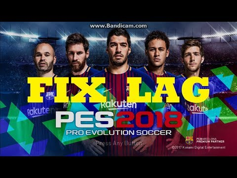 How to Fix Lag in PES 2018 (Full Game & Demo) | Run on Low