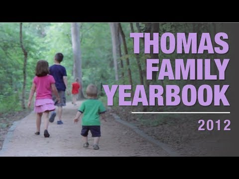 Thomas Family Yearbook 2012