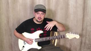 1 minute RIFF (Simple Classic All time favorite lick) Head turner when you play it