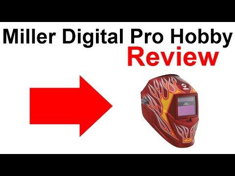 SHOCKING Miller Digital Pro Hobby Welding Helmet Review