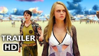 VALERIAN Official Trailer # 2 (2017) Cara Delevingne, Dane DeHaan, Rihanna Sci-Fi Movie HD