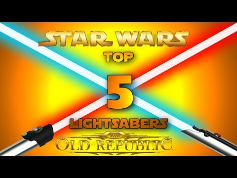 SWTOR: Top 5 Lightsabers