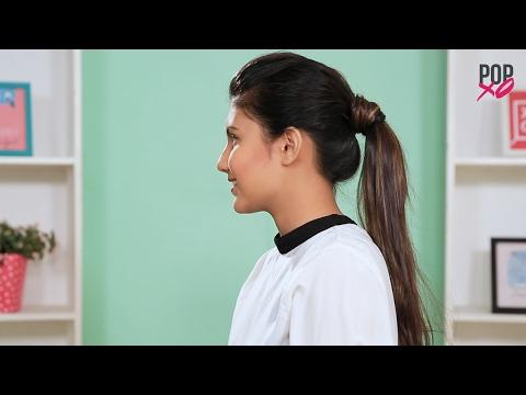 How To Get Deepika Padukone's Pouf Ponytail - POPxo