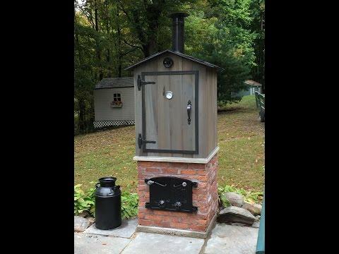 Homemade Hot Cold Smoker with Cold Smoke Generator