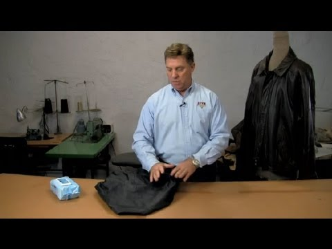 How to Clean a Fake Leather Jacket : Leather & Fabric Care