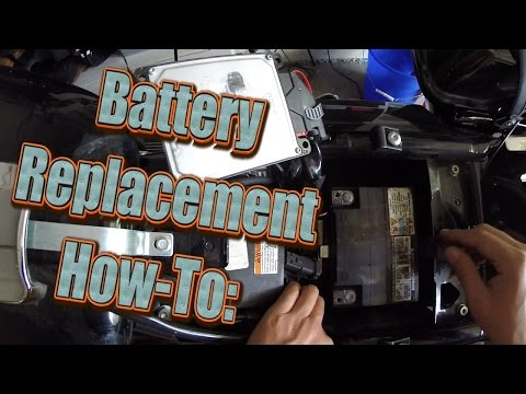 How To: Harley Davidson Street Glide - Battery Replacement (2012)
