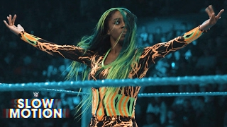 Amazing slow-motion footage of Naomi