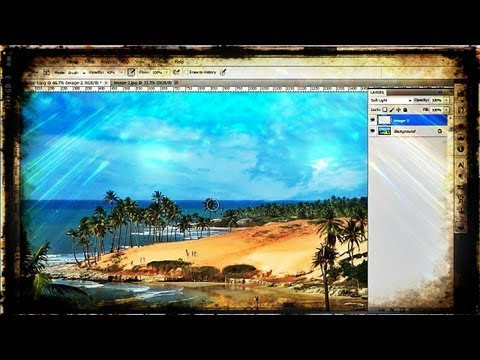 How to Merge Two Photos in One Using Photoshop