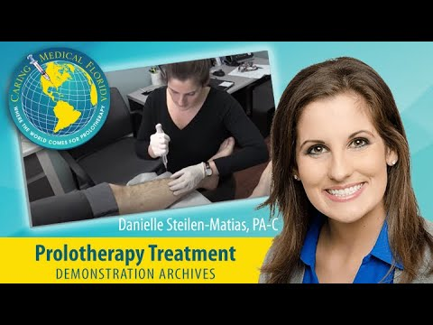 Shin Splints Treatment with Prolotherapy
