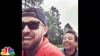 Justin Timberlake and Jimmy Fallon Go Bro Biking