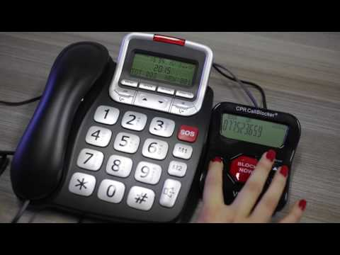 How to Remove a Number from the Block List on a CPR Call Blocker