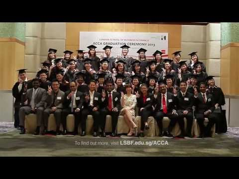 LSBF in Singapore - ACCA Graduation Ceremony 2013
