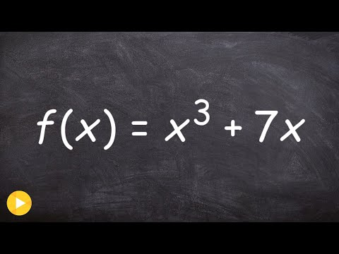 Calculus - Derivative of inverse function given an equation, f(x) = x^3 + 7x; Find g'(8)