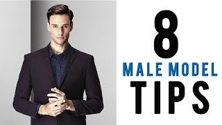 How To Look Good In Photos For Men   8 Male Model Tips