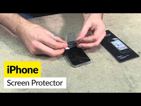 How to apply a screen protector - iPhone 4 & 4S