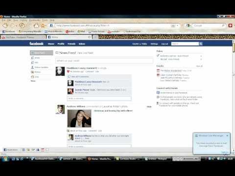 Facebook Theme Remove