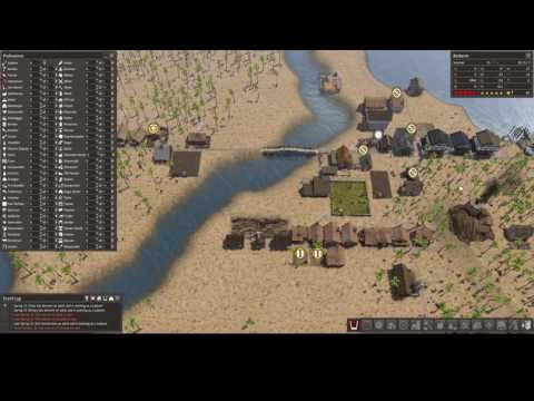 Banished #16: Colonial Charter (Sand Lakes) - Beginning to Grow