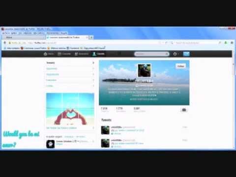 Tutorial para colocar un icon gif en twitter