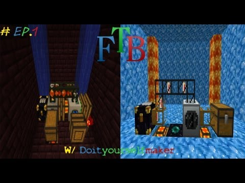 Minecraft: Feed The Beast modpack-How to get infinite tin,gold,pyrite dust,wolframium cells (Idea 1)
