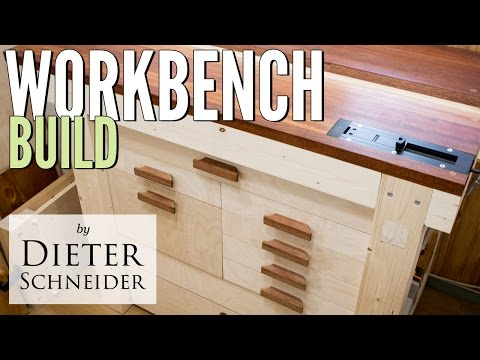 Building a Solid Woodworking Workbench from cheap lumber