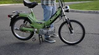 Puch Moped DMP AJH kit running for the first time - E50 Maxi