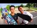 PLAYING A PRO SKATER IN SKATE Funniest Game Ever