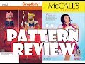 Sailor Moon Pattern Review