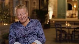 "MAMMA MIA! 2 Here We Go Again ""Bill"" Stellan Skarsgard On Set Interview"