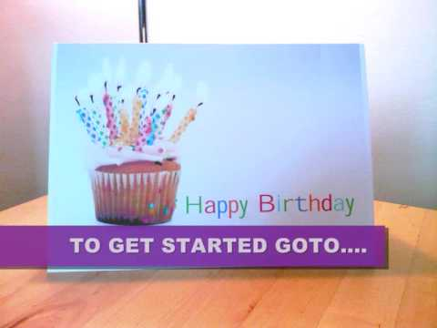 Printable Birthday Cards In Under 40 Seconds