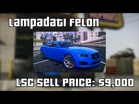 (HD) GTA V Online - Top 10 Cars To Sell At Los Santos Customs (Best Resale Prices)