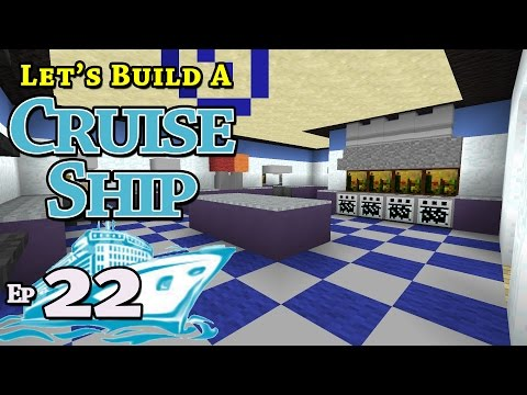 How To Build A Cruise Ship :: Minecraft :: E22 :: Z One N Only
