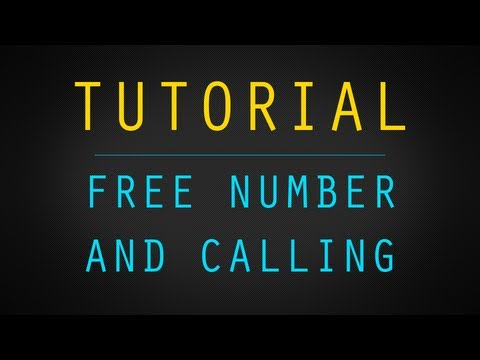Get Your Own Number for Free Calling and Texting w/ Google Voice