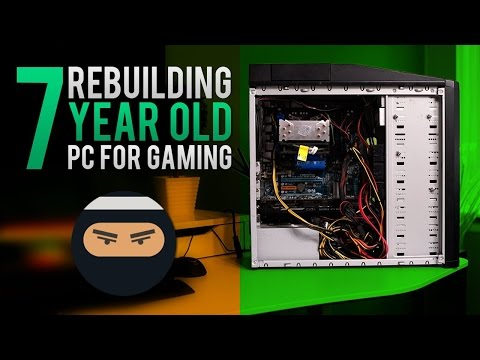 Rebuilding old computer to be a GAMING beast for cheap!