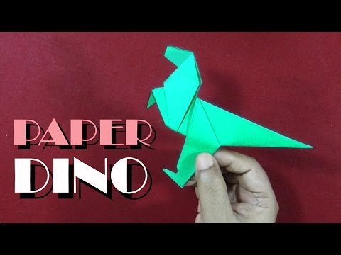 How To Make An Origami Dinosaur | Easy And Simple steps |