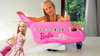 Гигантский самолет Барби для Николь