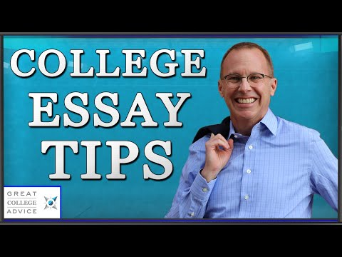 College Essay Tips From Great College Advice