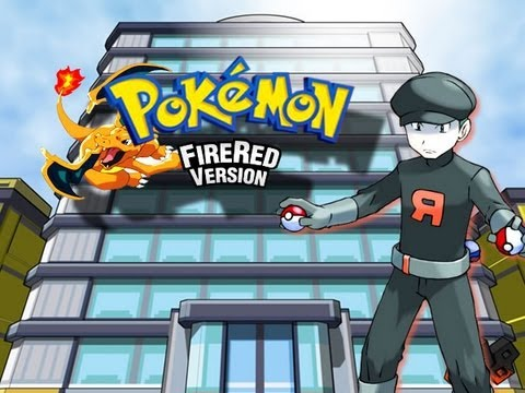 Pokemon FireRed - Saffron City - (Silph Co) - Part 1/3 - (GBA)